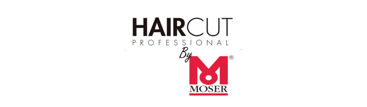 logo haircut by moser