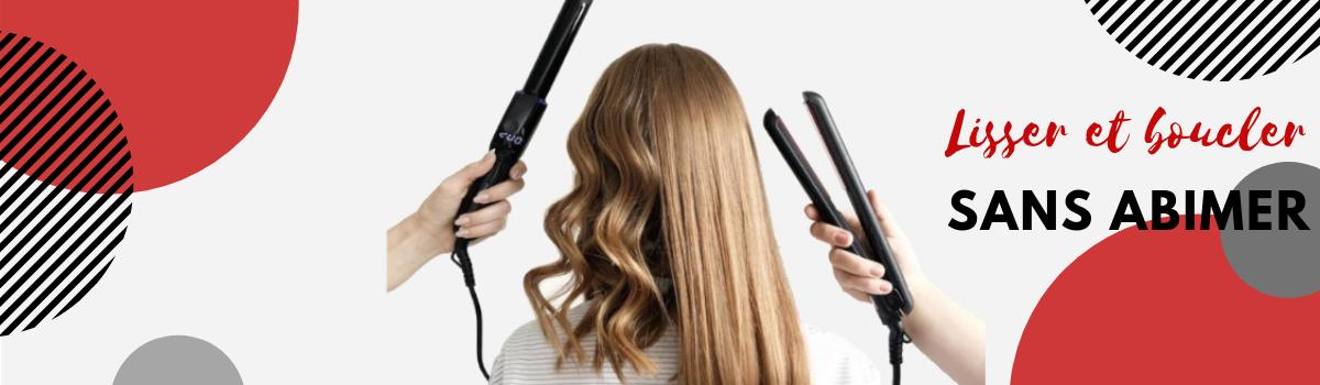 lisser ou boucler ses cheveux