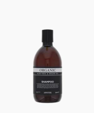 Shampoing bio à l'huile d'Argan et Aloe vera- 500ml – Apotek