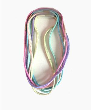 Serre tête bandeau élastique pastel x 6