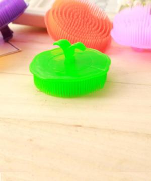 Brosse ronde démêlante plastique