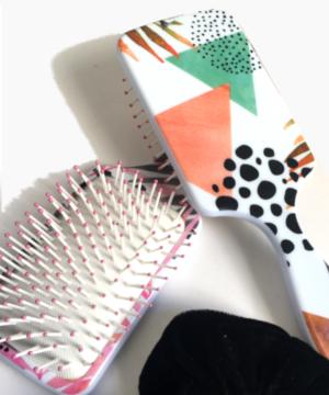 Brosse à picots pneumatique – design exotique